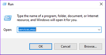Ejecute Service Manager Windows