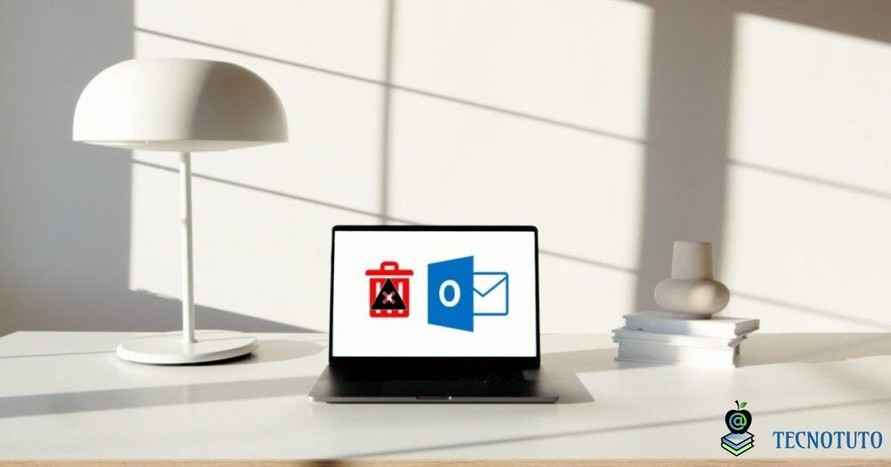 delete microsoft outlook email error message feature image